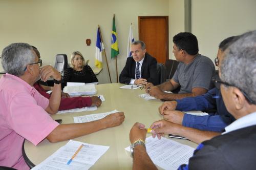 Subsecretário em reunião com representantes do Sisep