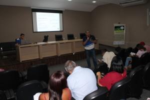 O administrador de empresas responsável pelo ICMS Ecológico, Ruy Reis enfatizou itens importantes do questionário que devem ser implementados pelo município