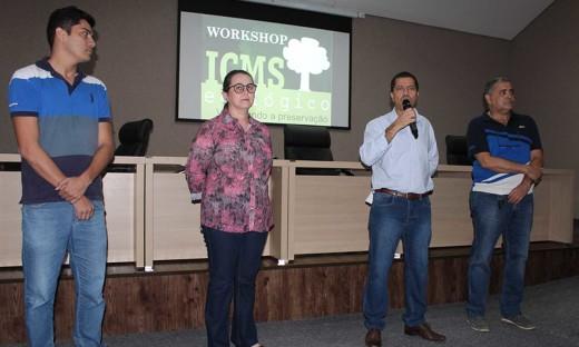 O presidente Marcelo Falcão destacou a importância dos municípios alcançarem cada vez mais os recursos do ICMS Ecológico