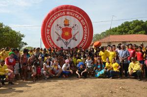 Bombeiros em Ação, Índios Xerentes Aldeia Porteira em Tocantinia-TO