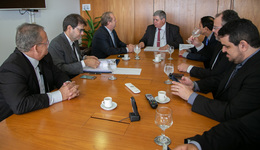 No Palácio do Planalto, com o ministro chefe da Secretaria de Governo, Carlos Marun, Mauro Carlesse buscou a liberação de recursos para projetos em andamento e a viabilização de obras já previstas