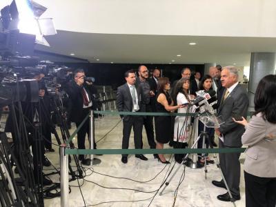 Coletiva posse do Presidente da Embrapa - foto Thiago Dourado_400.jpg