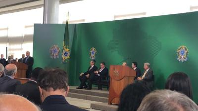 Presidente Michel Temer na posse do Presidente da Embrapa - foto Thiago Dourado_400.jpg
