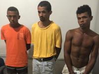 Suspeitos de crime bárbaro são presos pela Polícia Civil em Peixe