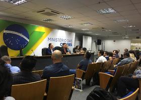 Reunião dos servidores em Brasília