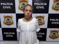 Fernanda Santana da Silva foi presa pela Polícia Civil em Paraíso quando tentava ingressar com drogas em unidade prisional