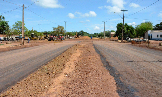 As obras incluem as avenidas TNS-02, TNS-04, TNS-06 e TLO-05. Um investimento de R$ 4.195.903,37