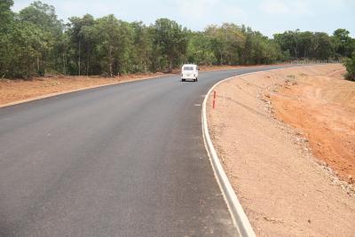 Pouco mais de 20 km já estão liberados para o trafego, embora ainda faltam as sinalizações vertical e horizontal
