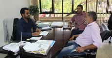 Superintendente recebe representantes do município de Porto Nacional que buscam apoio para regularização fundiária
