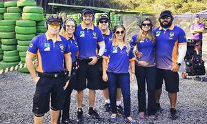 Equipe tocantinense de tiro prático disputa etapa do campeonato nacional de rifle 2018