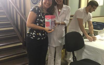 II Semana da Saúde da Mulher - PGE/TO - 25/10/2018 - Stand Farmácia BemEstar