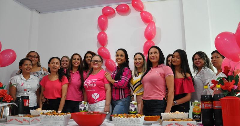 campanha alerta e lembra as mulheres da importância do exame de prevenção do câncer de mama