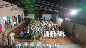 O evento contou com a presença de alunos do curso e seus familiares
