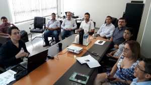 Ao longo deste ano, os consultores realizaram diversas reuniões com as equipes técnica de todos os setores da área de controle ambiental da instituição