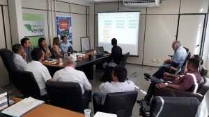 Apresentação foi acompanhada pelo presidente e vice-presidente do Naturatis, além de diversos diretores e assessores