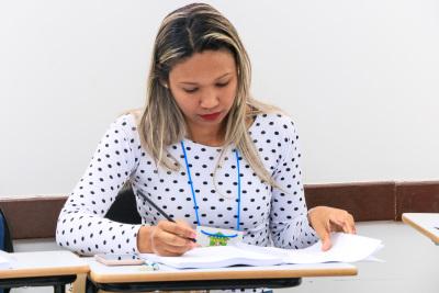 Claudiésia Ribeiro disse que está animada em participar da capacitação