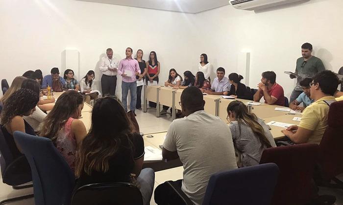 Iniciativa da Jucetins está possibilitando que universitários conheçam para que serve e como funciona o órgão no Estado (ação em Palmas)