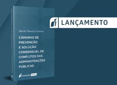 Livro lançado pelo procurador do Estado Murilo Centeno