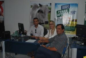 Representante da Adepará vem ao Tocantins conhecer trabalho da Adapec no controle da raiva dos herbívoros