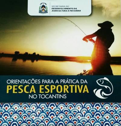 Cartilha orienta sobre a Pesca Esportiva  no Tocantins