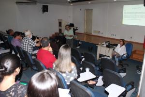 A oficina foi ministrada pelos consultores Ramaiana Ribeiro e Ana Rosa Figueiredo