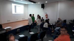 O encontro também recebeu a presença do vice-presidente do Naturatins, Antonio Marcos Barreto