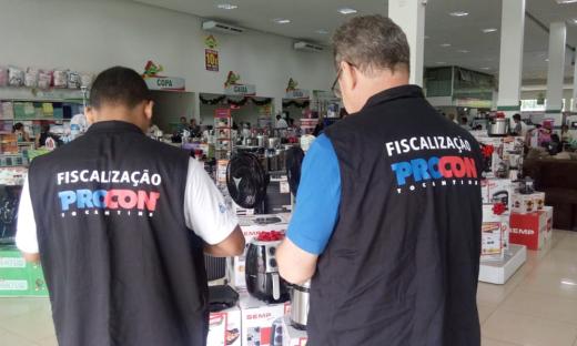Procon tem monitorado desde o dia 1º de novembro os preços nas lojas de Palmas