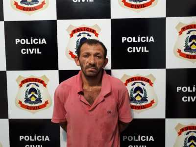 José Augusto é suspeito de praticar vários crimes de roubos e furtos e foi preso pela Polícia Civil
