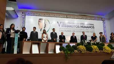 No Congresso, secretário Heber Fidelis representou o Governo do Estado, na pessoa do governador Mauro Carlesse.