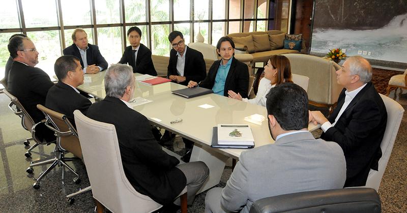 Técnicos do Banco Mundial foram recebidos pelo governador Mauro Carlesse na manhã desta quarta-feira, 7