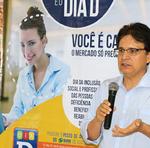 o superintendente do MTE, Celso Cézar Amaral, disse que, voluntariamente, a oferta de vagas para PCD ainda é bastante insignificante e que essa é uma realidade que precisa ser modificada