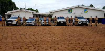 Militares do serviço administrativo reforçam policiamento..