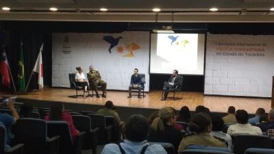 Discussão das temáticas apresentadas pelo Major  Urbina e pelo secretário do JICA, Kenichi Suzuki_400.jpg