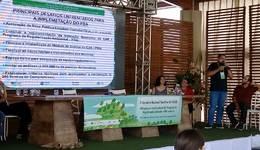 O gerente do CAR e Regularização do Naturatins, José Manzano, ministrou palestra na Bahia