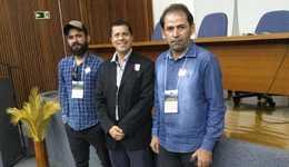 Do Naturatins, participam da abertura da oficina, além do presidente,  dois técnicos do órgão ambiental