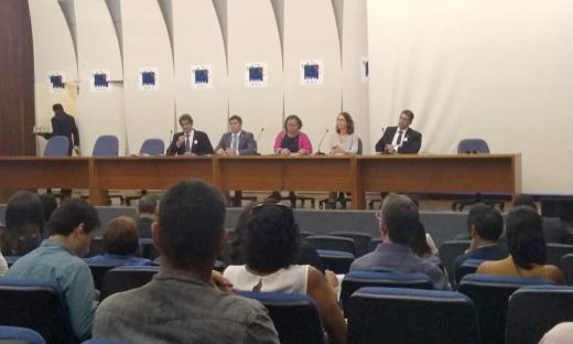 O evento ocorre na sede do Ibama e no Instituto Serzedello Corrêa,  em Brasília-DF, até o dia 14