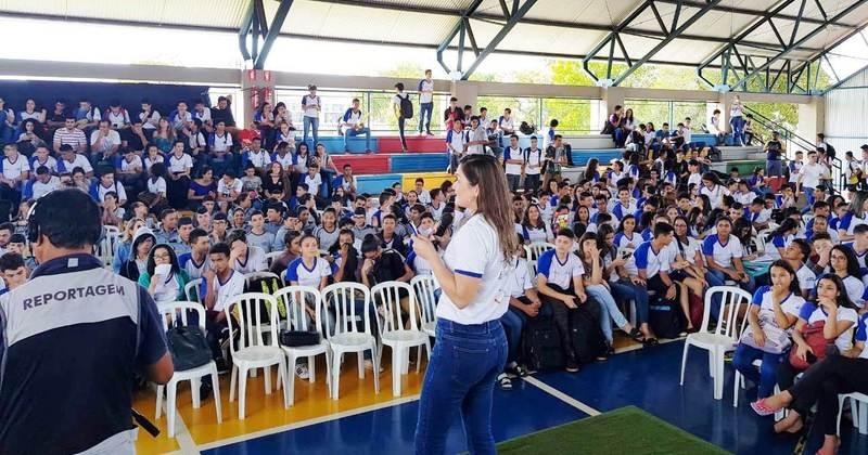 Estudantes participam de evento sobre empreendedorismo em Palmas