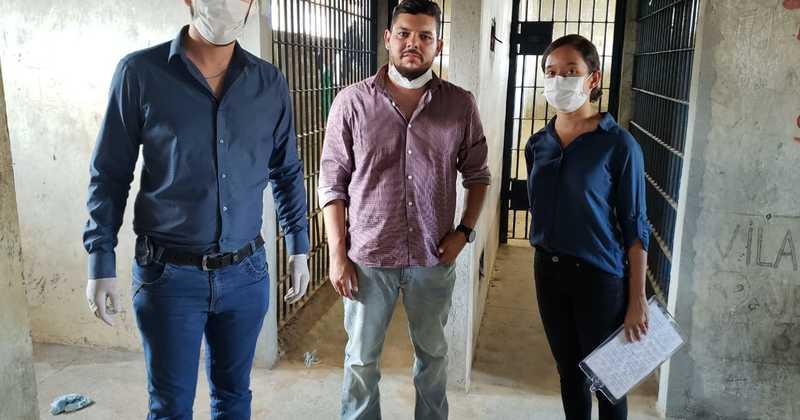 Equipe multidisciplinar está visitando casas penais para sistematizar ações direcionadas à saúde prisional