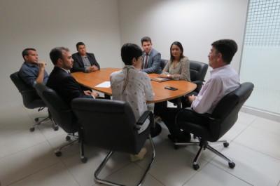 Superintendente visita futuras instalações do Procon Palmas