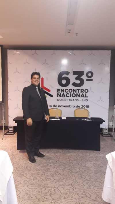 Colemar Câmara no 63 Encontro Nacional de Detrans