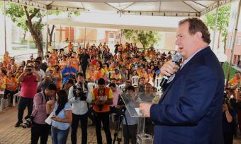 Mauro Carlesse destacou a importância da liberação de um empréstimo com a Caixa Econômica Federal no valor de R$ 600 milhões, que vai beneficiar todos os municípios do Estado
