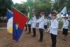 Estudantes do CPM em comemoração ao Dia da Bandeira