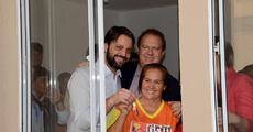 Eloí Machado de Melo disse que inicia uma nova fase em sua vida, ao receber a chave de sua casa das mãos do governador Mauro Carlesse e do ministro das Cidades Alexandre Baldy