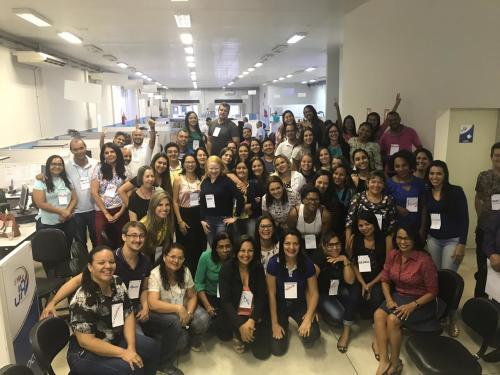 Servidores do É pra já Gurupi  participam de curso motivacional