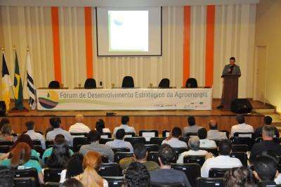 O Fórum trouxe informações sobre o setor de Agroenergia no Brasil e no mundo