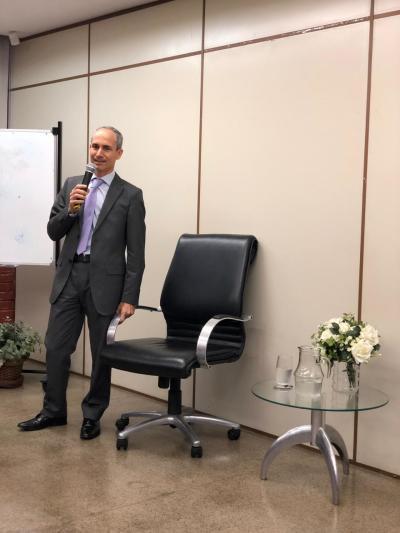 PGE Nivair Vieira Borges participou da palestra