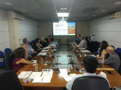 Durante reunião gestores da ZEE apresentam o projeto