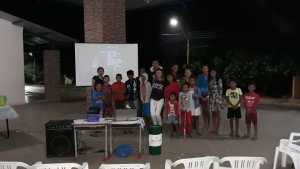 a sessão realizada foi dedicada às crianças que puderam aprender um pouco mais sobre inclusão, esquimós e o período glacial.