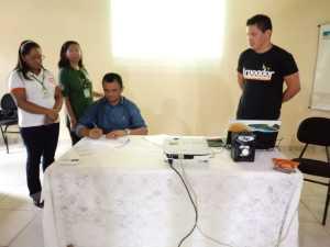 Mateiros recebeu a renovação do Protocolo do Fogo e do Fórum do Lixo e Cidadania