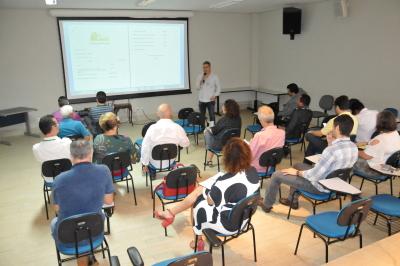 O coordenador do ABC na Seagro Fernando Garcia  apresentou os resultados das ações da instituição